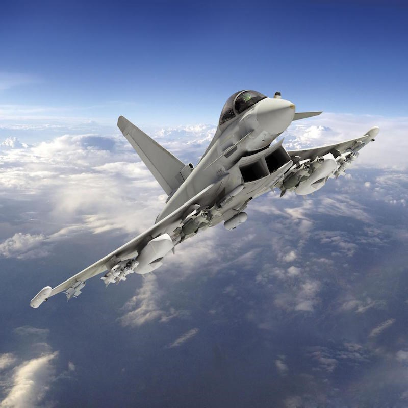 Raf Plans To Build On Centurion For Future Eurofighter
