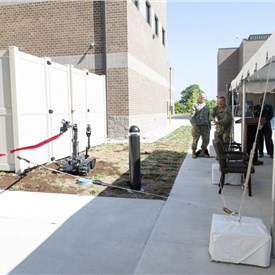 EOD Group 2 Cuts Ribbon on New EOD Operations Facility