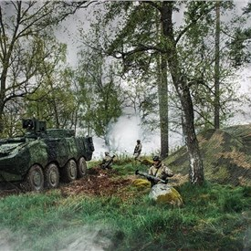 Royal Danish Army Orders Camouflage from Saab