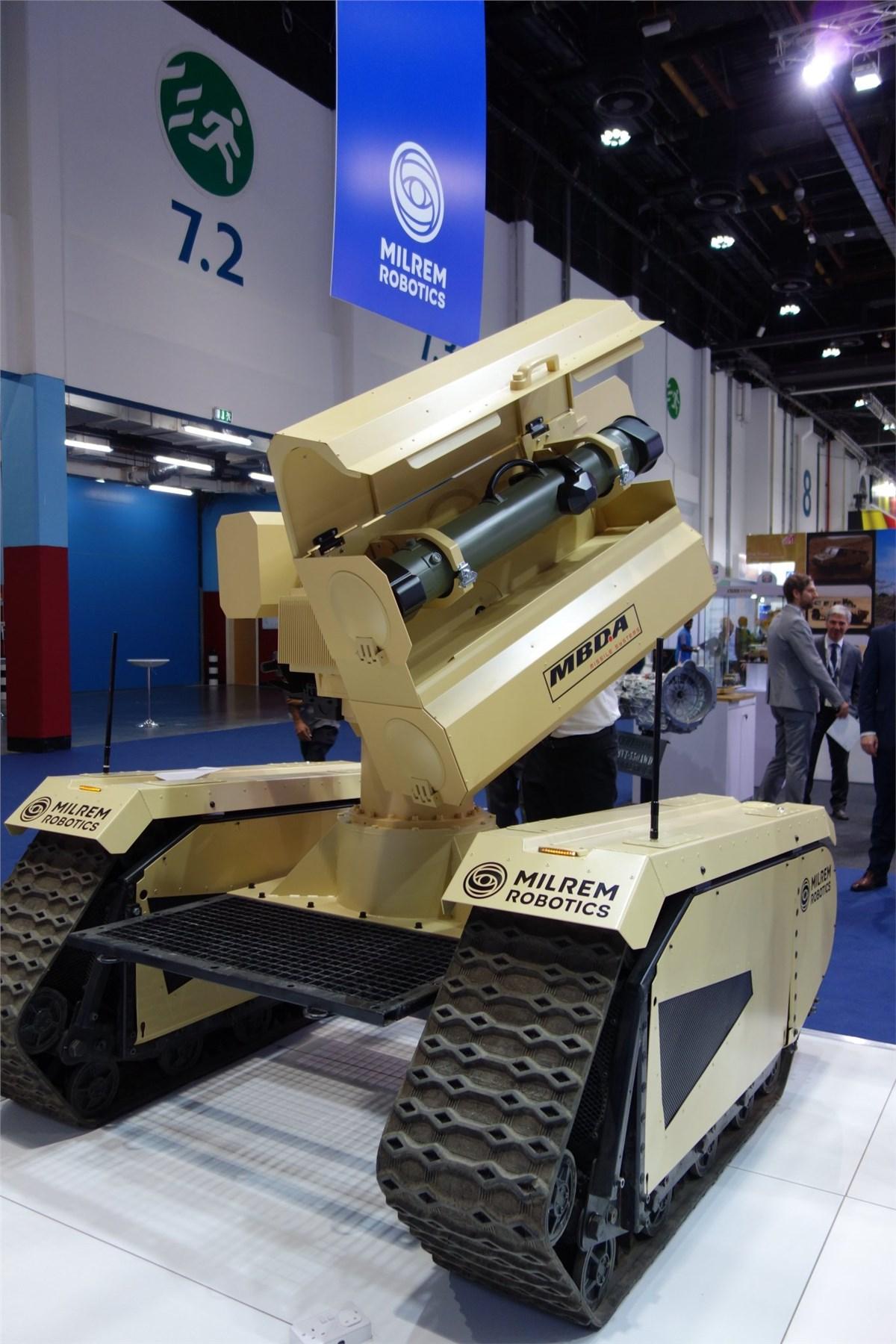 Mbda And Milrem Robotics Unveil The World S First Anti Tank