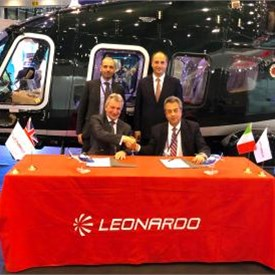 Sloane signs contract for two additional AW109s and renews Distributorship Agreement in UK