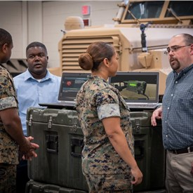 Navy's 3D Submarine Radio Room Training Technology Adapted for USMC Tactical Communicators