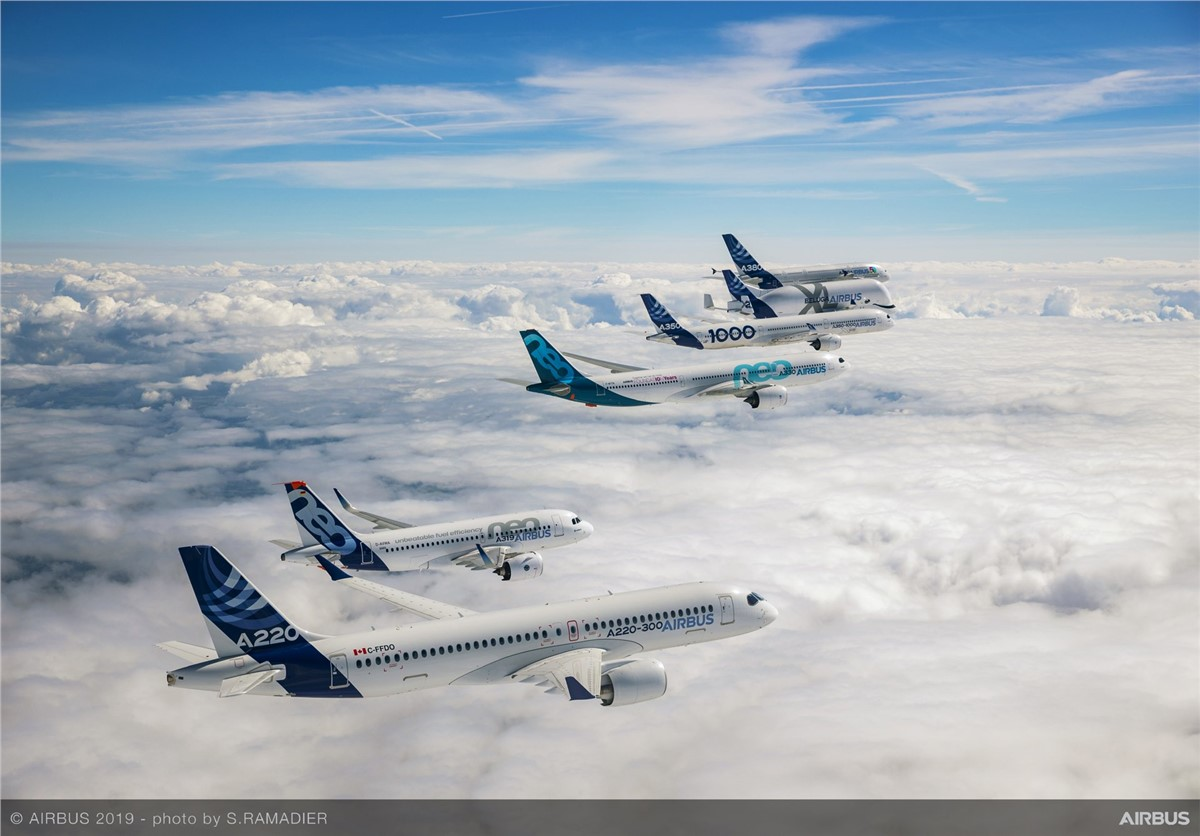 1st Year of Airbus Leading the A220 Program a Great Success