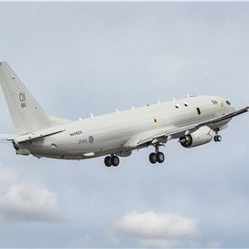 1st Boeing P-8A Poseidon for UK takes flight