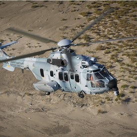 Flight Testing Begins for the 1st H225Ms for Kuwait