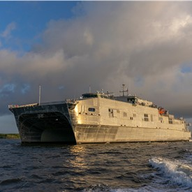 Navy Accepts Delivery of USNS Puerto Rico