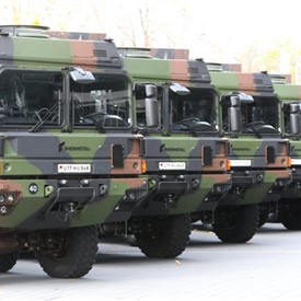 Rheinmetall to Supply the Bundeswehr With Another 1,000 Trucks - Order Worth Almost EUR400 M