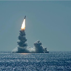 USS Maine Successfully Tests 2nd Trident II D5LE Missile