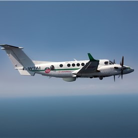 Surveillance-Ready King Air 350ERs Start Maritime Patrol Duties Following Delivery by Leonardo