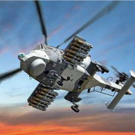 Leonardo AW159 Wildcat helicopter conducts 1st successful firings of Thales 'Martlet' Lightweight Multirole Missile (LMM)