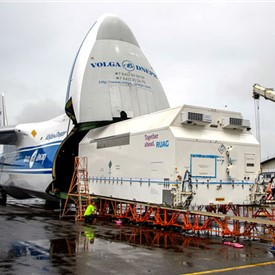 BSAT-4B is Delivered to French Guiana for Arianespace's Upcoming Ariane 5 Mission