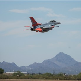 Boeing' Arizona Modification Line Yields 1st QF-16 Full-Scale Aerial Target
