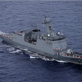 HENSOLDT UK Delivers Radar Suite to the Philippine Navy Frigate BRP Jose Rizal
