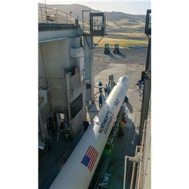 NOC Successfully Completes First Qualification Test of New Rocket Motor for United Launch Alliance