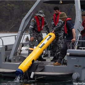 Sonardyne's Solstice MCM Sonar Now MINTACS Compatible for Royal Australian Navy