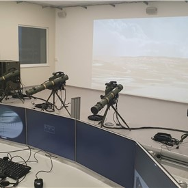 Latvia Installs New SPIKE Missiles Team Trainer for SPIKE LR2 and SPIKE SR