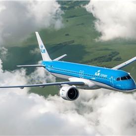KLM Takes Delivery of Their 1st Embraer E2