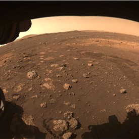 NASA's Perseverance Drives on Mars' Terrain for 1st Time