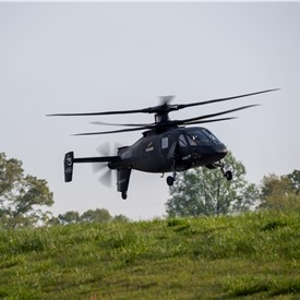 Sikorsky S-97 RAIDER Demos Agility at the X During Future Vertical Lift Flight Demos at Redstone Arsenal