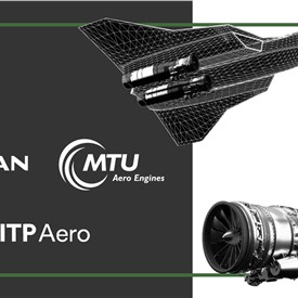 Image - Safran and MTU, Through Their New JV EUMET, and ITP Aero, Agree on Cooperation to Power Europe's NGF
